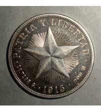 Куба. Песо 1915 г.