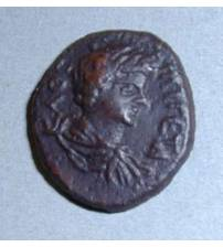 Olbia. Assarion of Geta. 211-212 AD