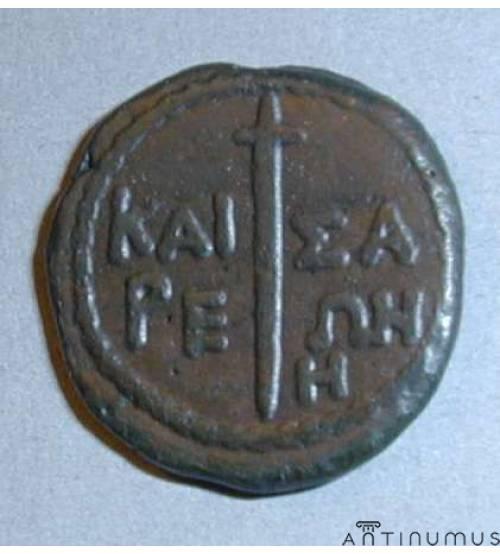 Кесария (Пантикапей). 8 унций. 37-38 гг. н.э. ЛОТ 1