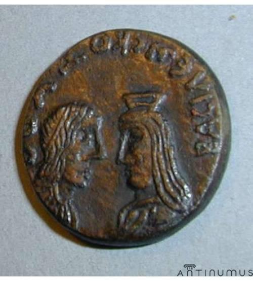 Котис III. Двойной денарий ЛОТ 1