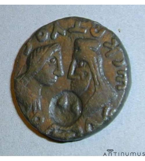 Котис III. Двойной денарий ЛОТ 2