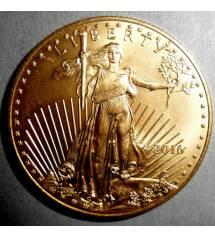 USA. 25 dollars 2016