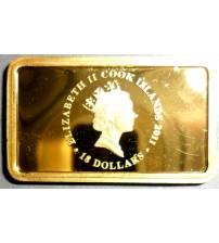 Острова Кука. 18 долларов 2011