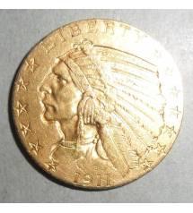 USA. 5 dollars 1911