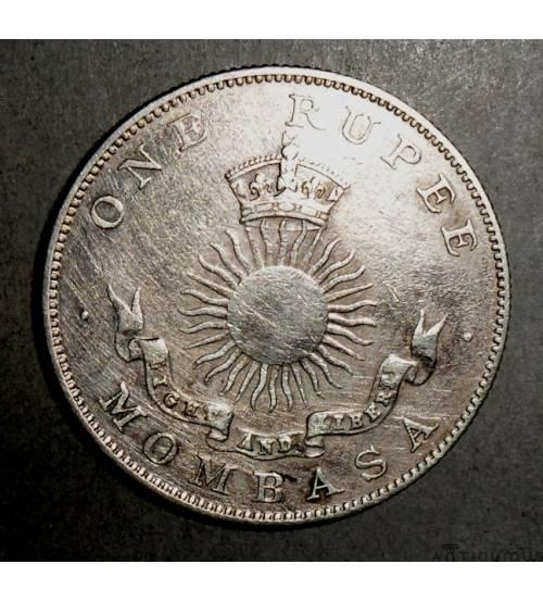 Момбаса. 1 рупия 1888