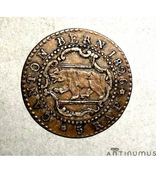 Bern. 5 rappen 1826
