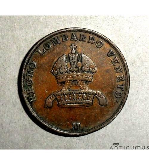 Королевство Ломбардия-Венеция. 5 чентезимо 1849