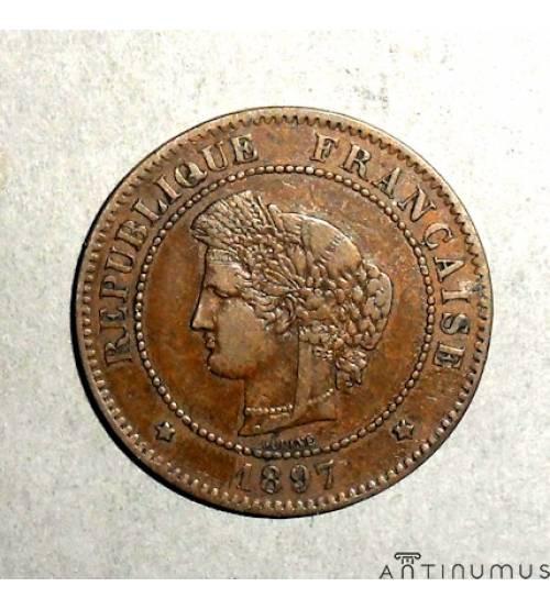Франция. 5 сантимов 1897