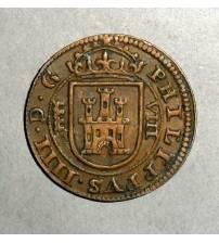 Испания. 8 мараведи 1624