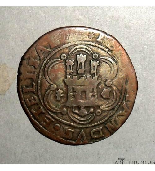 Crown of Castile. 2 maravedi 1474-1504