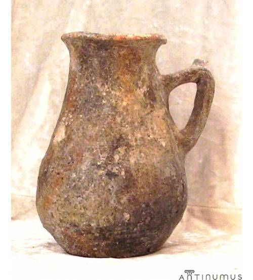 Grey Clay Jug