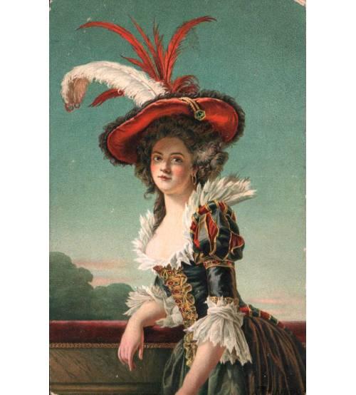 Женский портрет. Лот 3