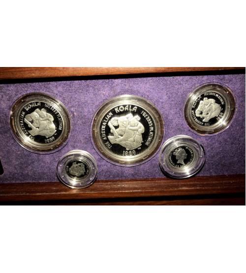 Австралия. Комплект платиновых монет