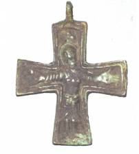 Breast cross X – XIII ages Lot 25