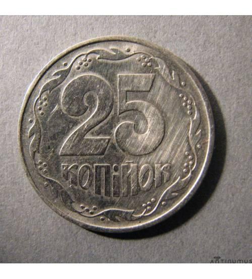25 Копеек. Никель. 1994 г.